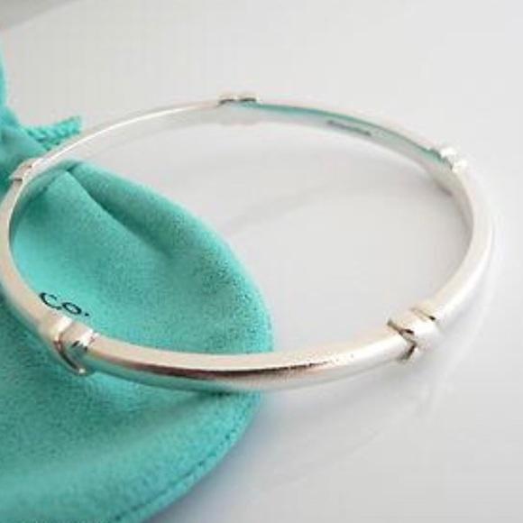 79d83ec31 Tiffany & Co. Jewelry | Retired Tiffany Co Signature X Bangle ...